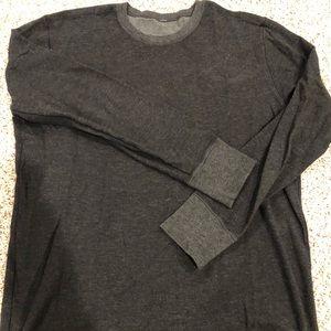 Men's XXL Lululemon Grey Longsleeve Shirt
